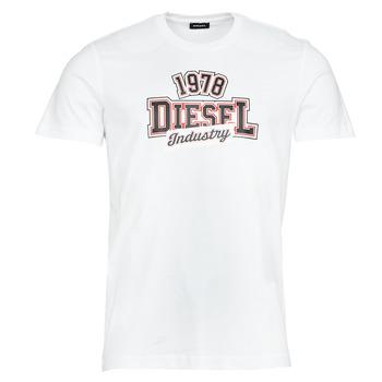 Kleidung Herren T-Shirts Diesel T-DIEGOS-K26 Weiss