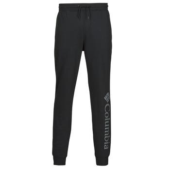 Kleidung Herren Jogginghosen Columbia M CSC LOGO FLEECE JOGGER II Schwarz / Grau