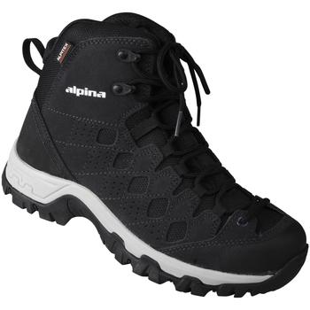 Schuhe Herren Wanderschuhe Alpina Schnürer Dan Farbe: schwarz schwarz