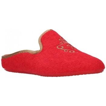 Schuhe Damen Hausschuhe Norteñas 9-35-23 Mujer Rojo rouge
