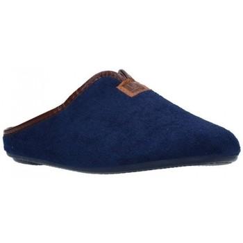 Schuhe Damen Hausschuhe Norteñas 9-191 Mujer Azul marino bleu
