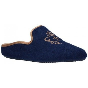 Schuhe Damen Hausschuhe Norteñas 9-35-23 Mujer Azul marino bleu