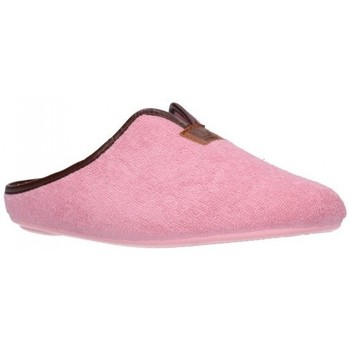 Schuhe Damen Hausschuhe Norteñas 9-191 Mujer Rosa rose