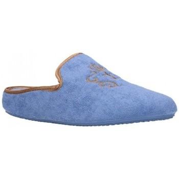 Schuhe Damen Hausschuhe Norteñas 9-35-23 Mujer Celeste bleu
