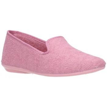 Schuhe Mädchen Hausschuhe Norteñas 9-980 Niña Rosa rose