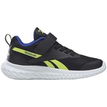 Schuhe Kinder Laufschuhe Reebok Sport Rush Runner 30 Alt Schwarz, Seladongrün