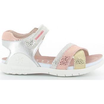 Schuhe Mädchen Sandalen / Sandaletten Biomecanics 212173 A metalizado Argenté