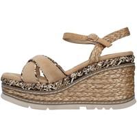 Schuhe Damen Sandalen / Sandaletten Alma En Pena V21501 BEIGE