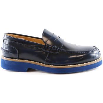 Schuhe Herren Slipper Exton 2102 Blau