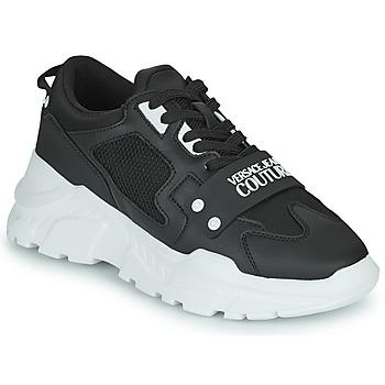Schuhe Herren Sneaker Low Versace Jeans Couture DOLINE Schwarz