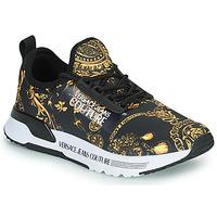 Schuhe Damen Sneaker Low Versace Jeans Couture REMO Schwarz