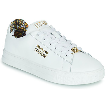 Schuhe Damen Sneaker Low Versace Jeans Couture REMO Weiss