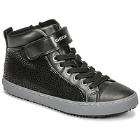 Schuhe Mädchen Sneaker High Geox KALISPERA Schwarz