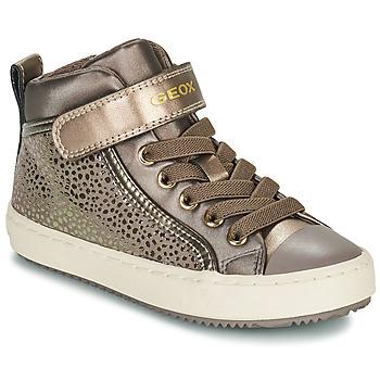 Schuhe Mädchen Sneaker High Geox KALISPERA Gold