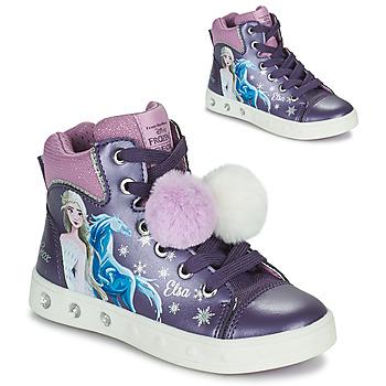 Schuhe Mädchen Sneaker High Geox SKYLIN Violett