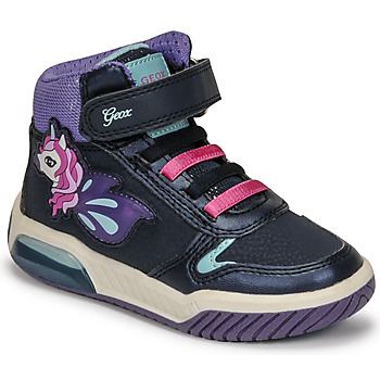 Schuhe Mädchen Sneaker High Geox INEK Violett