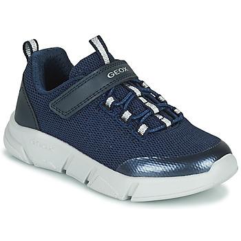 Schuhe Mädchen Sneaker Low Geox ARIL Blau