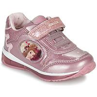 Schuhe Mädchen Sneaker Low Geox TODO Rose