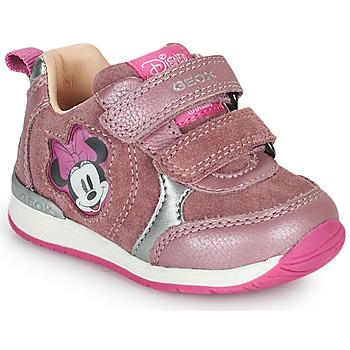 Schuhe Mädchen Sneaker Low Geox RISHO Rose
