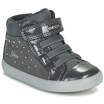 Schuhe Mädchen Sneaker High Geox GISLI Grau