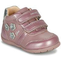 Schuhe Mädchen Sneaker Low Geox ELTHAN Rose