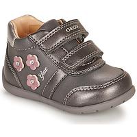 Schuhe Mädchen Sneaker Low Geox ELTHAN Grau