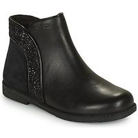 Schuhe Mädchen Boots Geox SHAWNTEL Schwarz