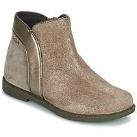 Schuhe Mädchen Boots Geox SHAWNTEL Gold