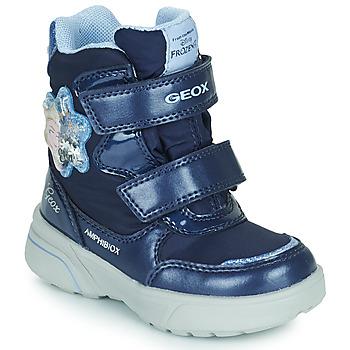 Schuhe Mädchen Schneestiefel Geox SVEGGEN ABX Marine