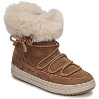 Schuhe Mädchen Boots Geox REBECCA WPF Camel