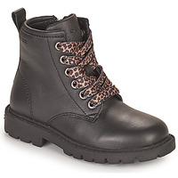 Schuhe Mädchen Boots Geox SHAYLAX Schwarz