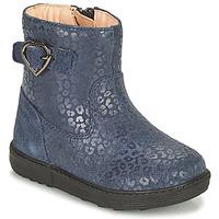 Schuhe Mädchen Klassische Stiefel Geox HYNDE Blau