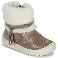 Schuhe Mädchen Klassische Stiefel Geox OMAR Braun