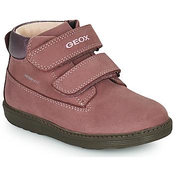 Schuhe Mädchen Boots Geox HYNDE WPF Rose