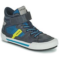 Schuhe Jungen Sneaker High Geox ALONISSO Blau