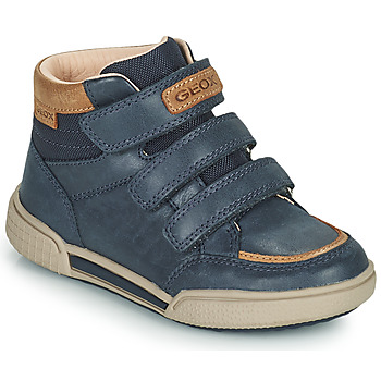 Schuhe Jungen Sneaker High Geox POSEIDO Marine