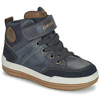 Schuhe Jungen Boots Geox CHARZ ABX Marine