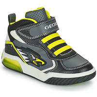 Schuhe Jungen Sneaker High Geox INEK Grau / Grün