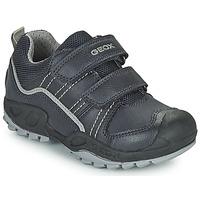 Schuhe Jungen Boots Geox SAVAGE Marine