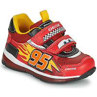 Schuhe Jungen Sneaker Low Geox TODO Rot / Gelb