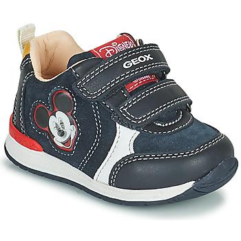 Schuhe Jungen Sneaker Low Geox RISHO Marine
