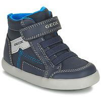 Schuhe Jungen Sneaker High Geox GISLI Marine