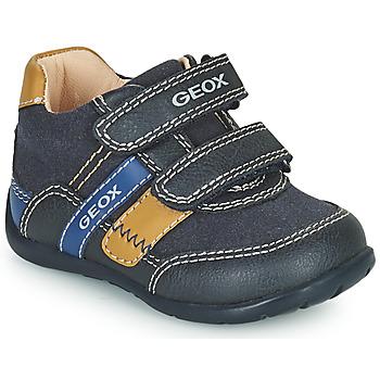Schuhe Jungen Sneaker Low Geox ELTHAN Marine