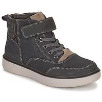 Schuhe Jungen Boots Geox RIDDOCK WPF Marine