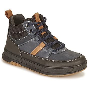 Schuhe Jungen Boots Geox ASTUTO Marine