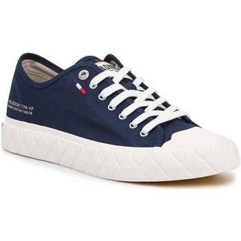 Schuhe Sneaker Low Palladium Manufacture Ace CVS U 77014-458 dunkelblau