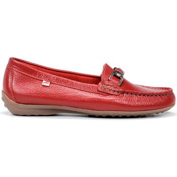 Schuhe Damen Slipper Fluchos Müßiggänger CALLAGHAN NELSON DANCE ROT