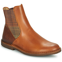 Schuhe Damen Boots Kickers TINTO Camel