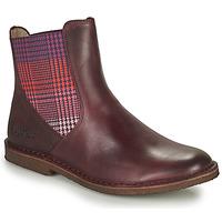 Schuhe Damen Boots Kickers TINTO Bordeaux
