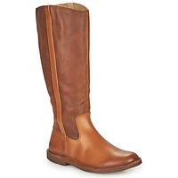 Schuhe Damen Klassische Stiefel Kickers TINTTA Camel